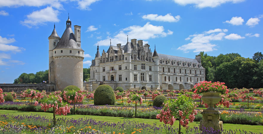 Schloss Chenonceau in Frankreich