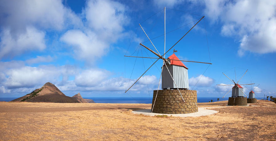 Windmühlen in Port Santo