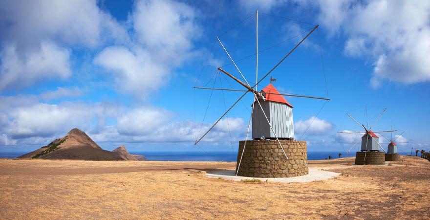Windmühlen in Port Santo