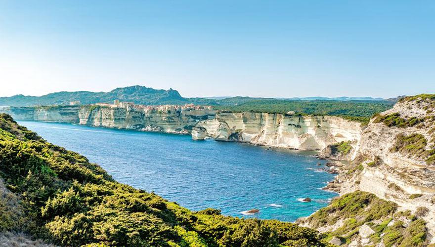 Bonifacio Klippe auf Korsika