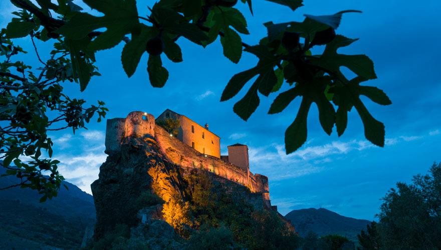Burg in Korte auf Korsika