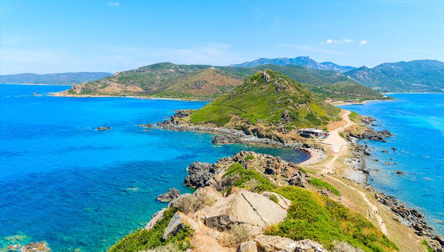 Küstenwanderung auf Korsika