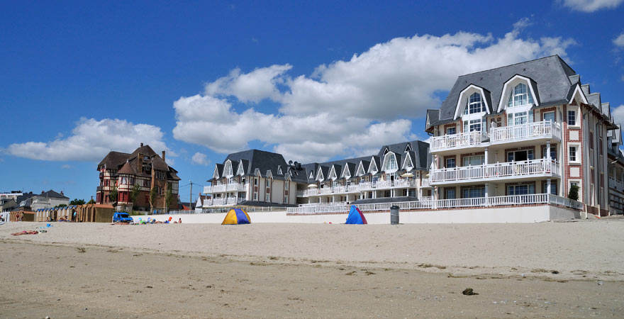 Strand in Le Crotoy