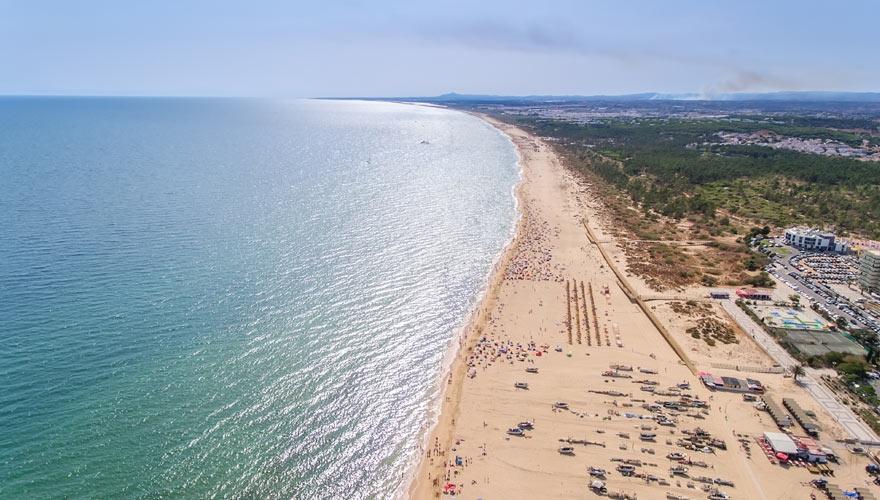 Monte Gordo und Altura an der Algarve