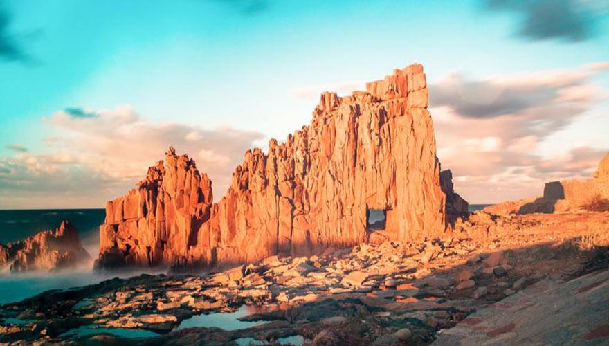 Rote Felsen Sardinien