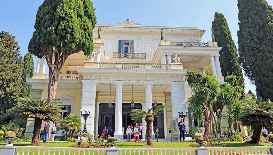 Schloss Achilleion auf Korfu