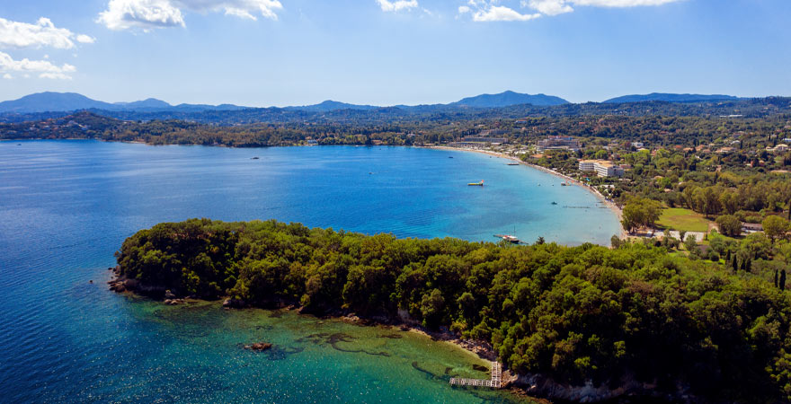 dassia auf Korfu
