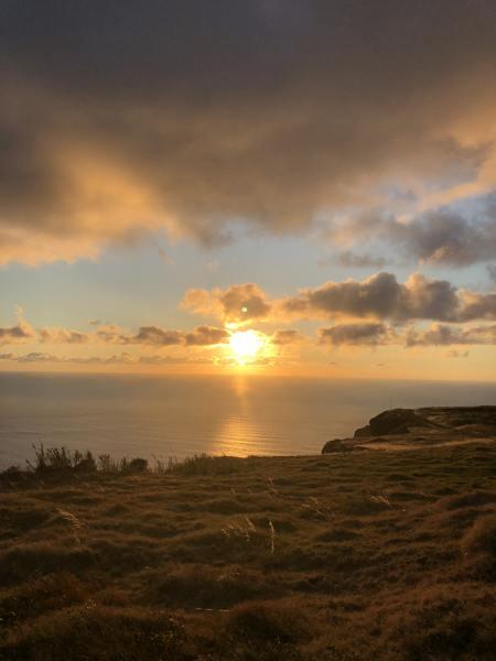 Sonnenuntergang Ponta do Pago
