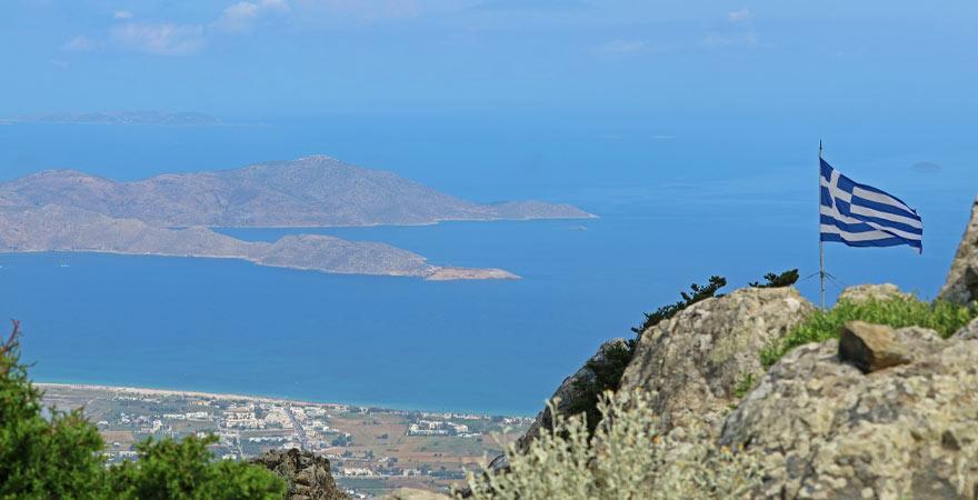 Ausblick vom Berg Dikeos auf Kos