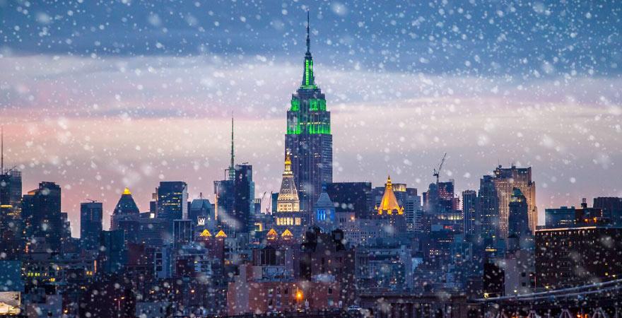 new York im Winter