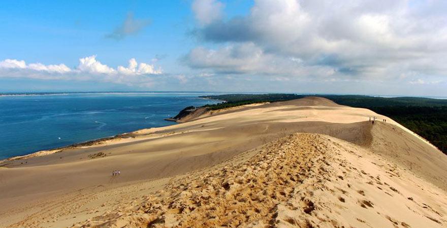 Dune du Pilat in Frankreich