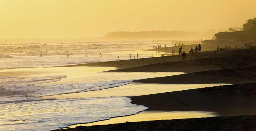 Kuta Beach auf Bali