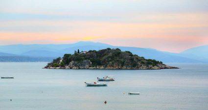 Sonnenuntergang auf dem Peleponnes