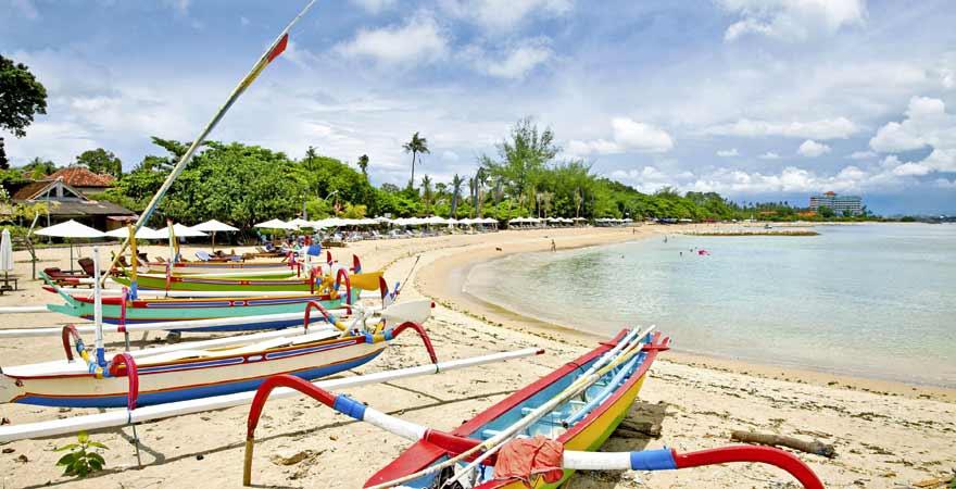 Sanur Beach auf Bali