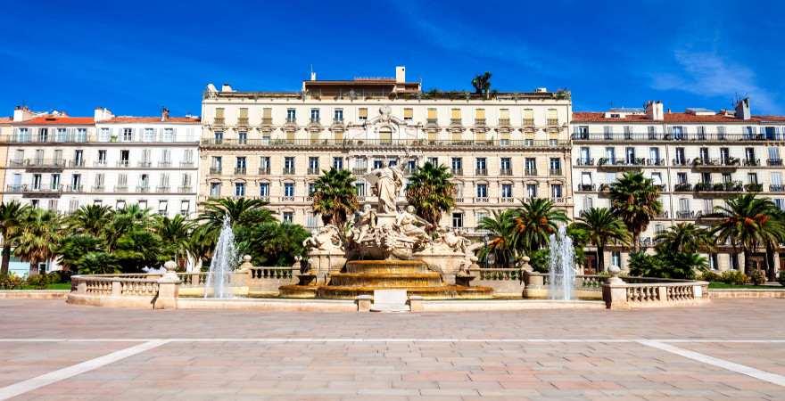Altstadt von Toulon, Cote d'Azur, Frankreich