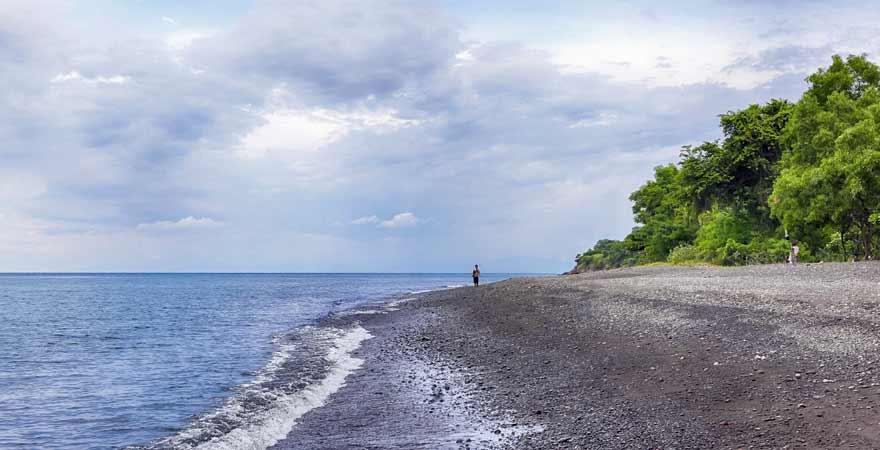 Amed Beach auf Bali