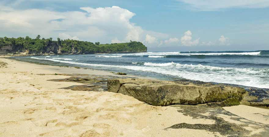 Balangan Beach auf Bali