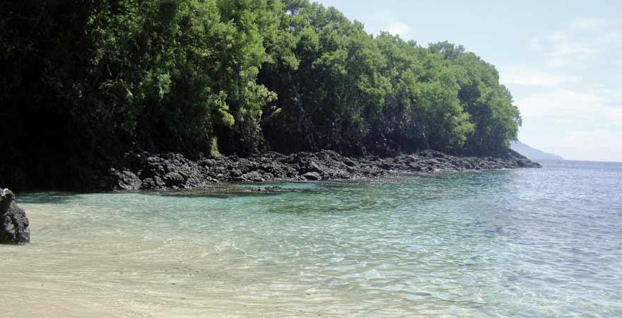 Blue Lagoon Beach auf Bali