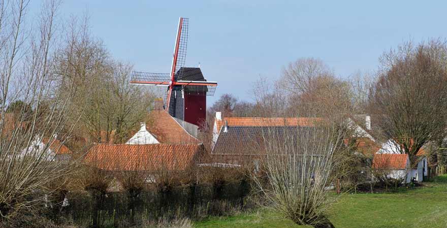 Mühle in Retranchement