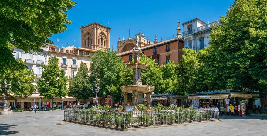 Plaza de Bib Rambla in Granada