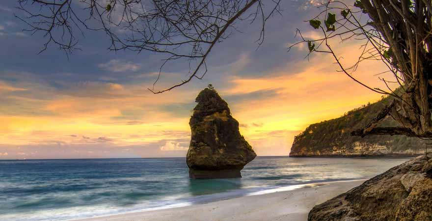 Suwehan Beach auf Nusa Penida