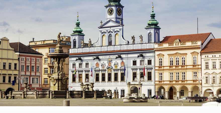 Budweis in Tschechien