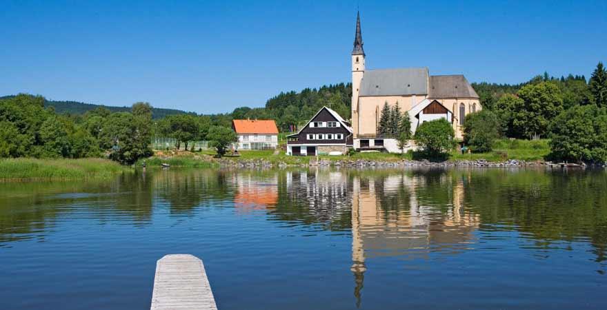 Lipno See in Tschechien