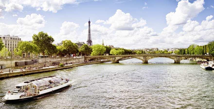 Die Seine und ihre Ufer sind beliebt für Ausflüge