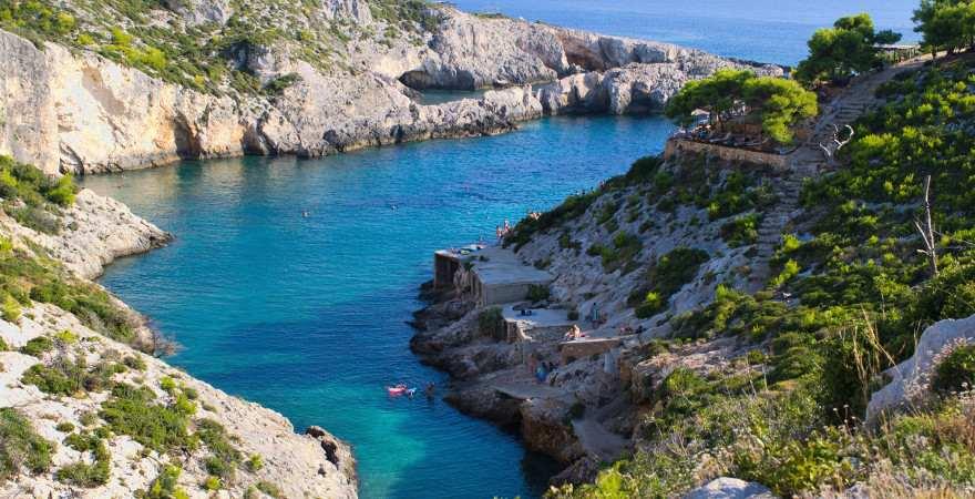 fjrodähnliche Bucht auf Zakynthos