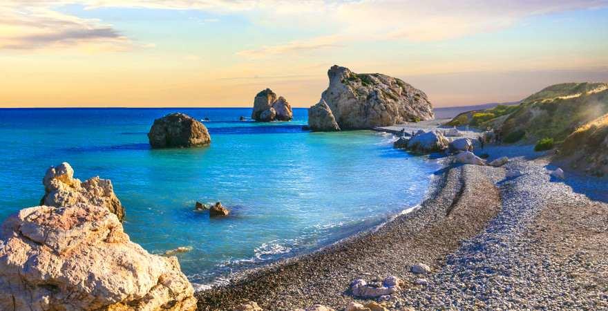 Aphrodite Felsen auf Zypern