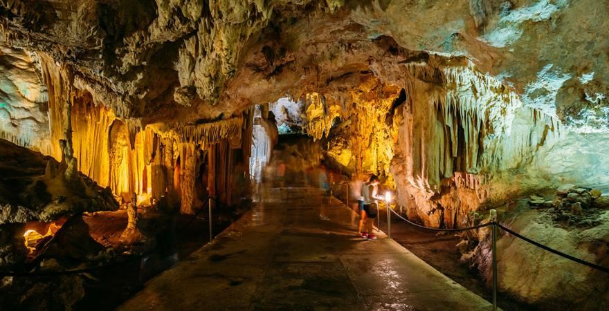 Höhlen von Nerja in Spanien