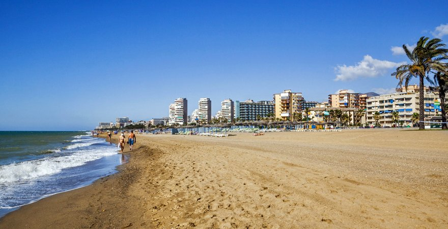 Torremolinos in Spanien