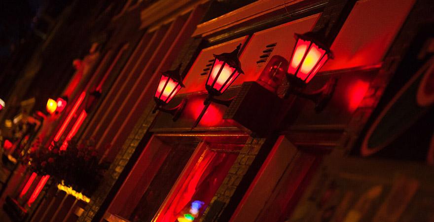 De Wallen, Rotlicht, Nacht, Red Light District