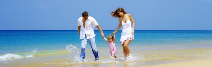 Familienurlaub in Deutschland am Strand genießen