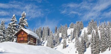 Skispaß in der Schweiz