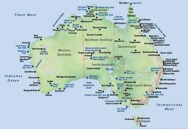 Karte Australien Und Umgebung.Australien Urlaub Günstig Buchen Bei Fti