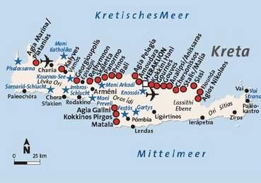 Kreta Karte