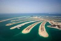 Dubai Urlaub Palme