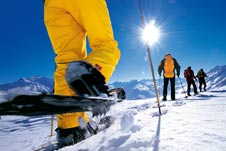 Schweiz-Schneeschuhwandern