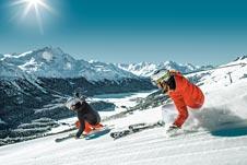 Schweiz-Skifahren