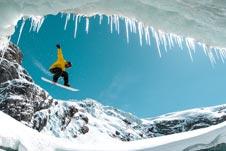 Schweiz-Snowboarden