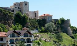 Albanien Urlaub Festung Kruja