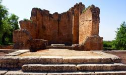 Algarve Urlaub Ruinen