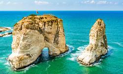 Beirut Taubenfelsen