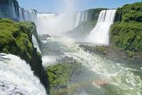 Brasilien Iguazu Wasserfall