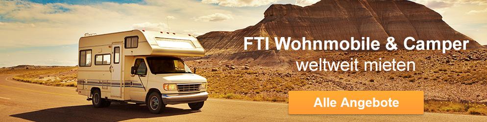 Camper Urlaub mit FTI