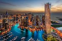 Dubai Urlaub Skyline