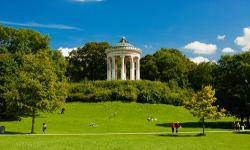 Englischer Garten Urlaub München