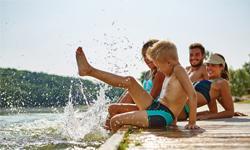Familienurlaub Österreich Badespaß
