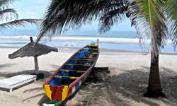 Gambia Urlaub Sandstrand